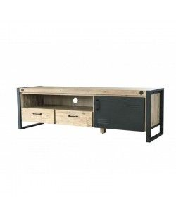Mueble de TV diseño industrial modelo Boston